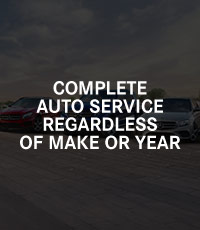 Complete Auto Service Regardless Of Make Or Year