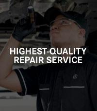 Highest-Quality Repair Service