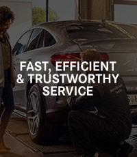 Fast, Efficient & Trustworthy Service