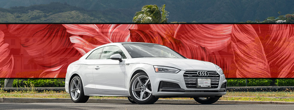 Lease a new Audi at the Audi Honolulu finance center in Honolulu on the island of O'ahu