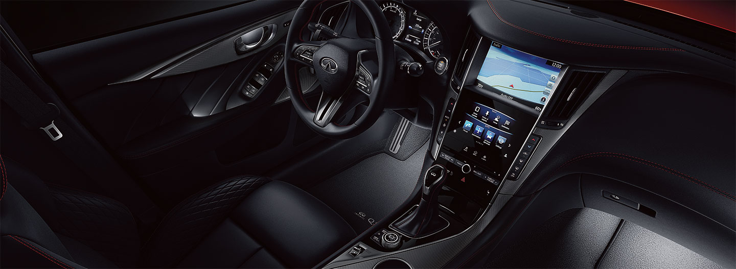 Driver controls  of the 2018 INFINITI Q50