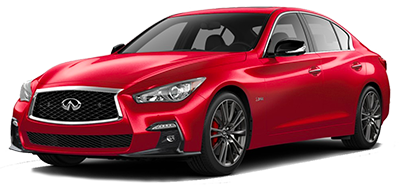2018 INFINITI Q50 Red Sport 400 at South Motors INFINITI in Miami