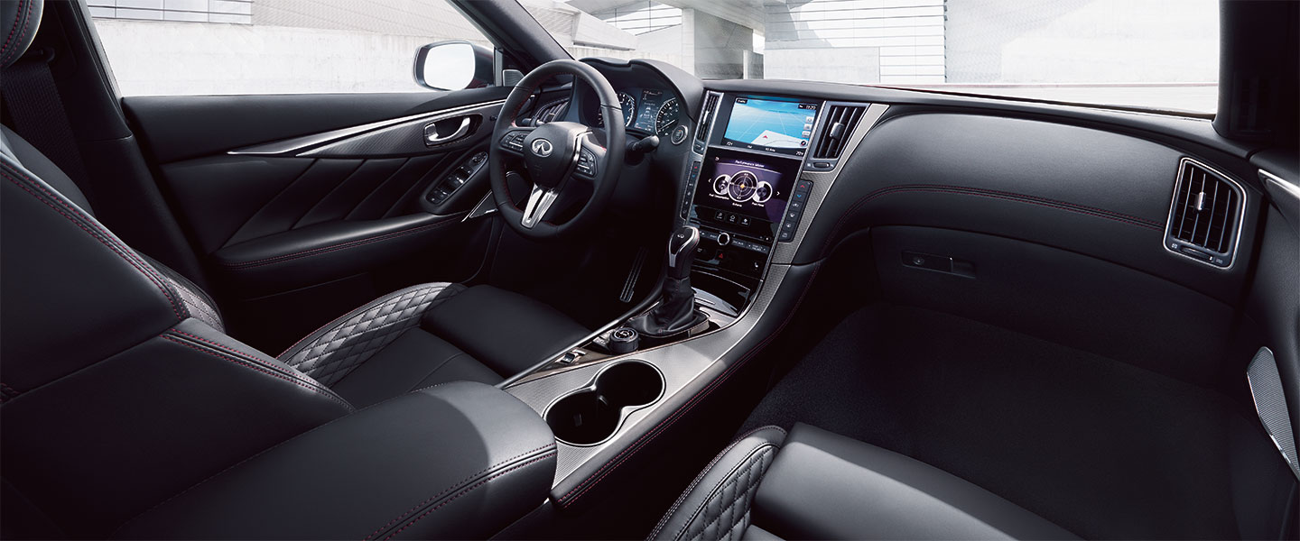 The 2018 INFINITI Q50 is available at South Motors INFINITI in Miami, FL