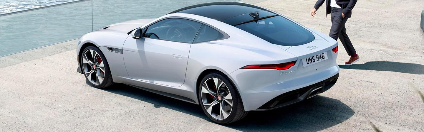 2021 Jaguar F-Type top view