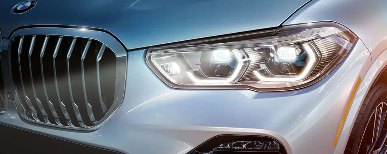 X5 front headlights