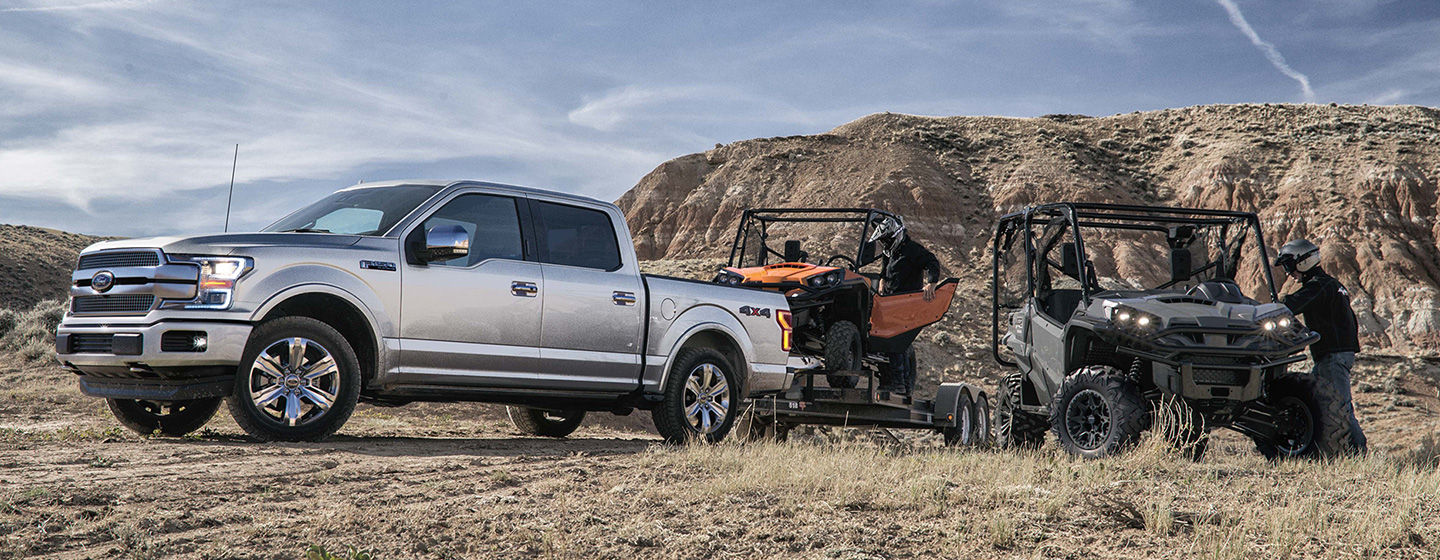 Exterior of the 2019 Ford F-150 - available at our Ford dealership near Edmond, OK.