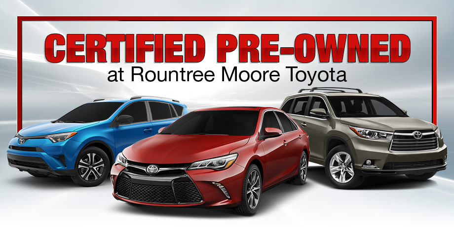 Why you should buy certified pre-owned at Rountree Moore Toyota in Lake City, FL