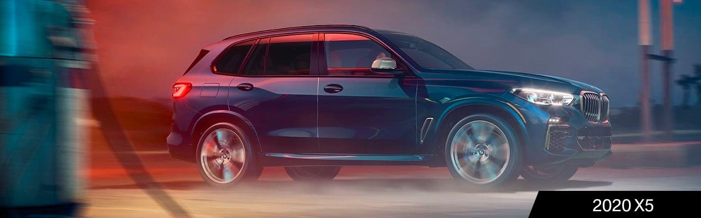 2020 BMW X5 in motion