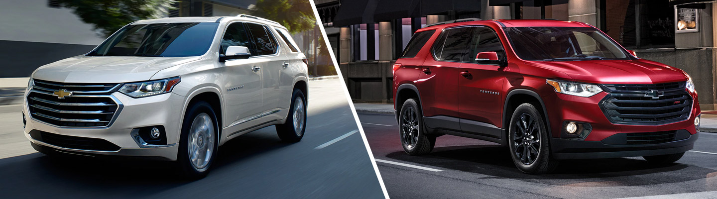 2020 Chevy Traverse Configurations at Spitzer Chevy North Canton