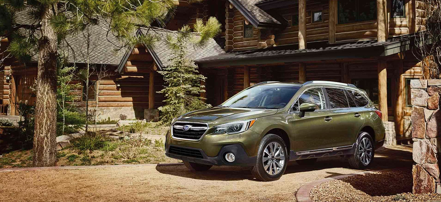 Exterior image of the 2019 Subaru Outback available at Rivertown Subaru.