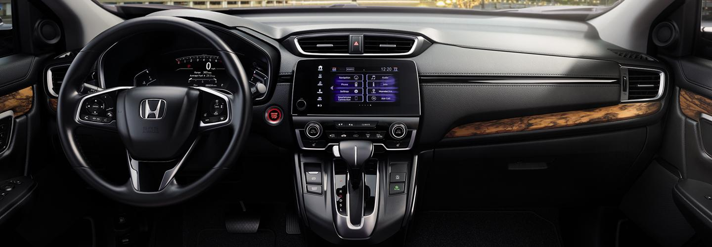 Interior features in the 2020 Honda CR-V