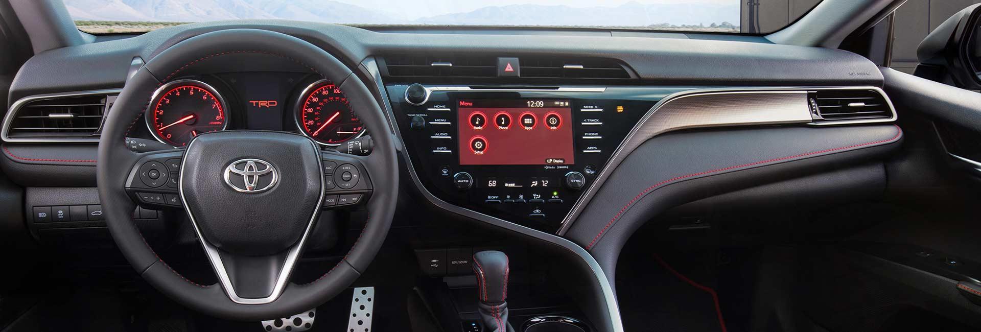 I2021 Toyota Camry  infotainment system