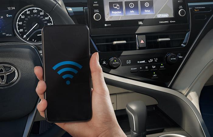 Wi-Fi Connect working in 2021 Toyota Camry