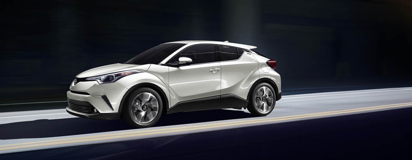 Exterior of the 2019 Toyota C-HR at our Atlanta car dealership