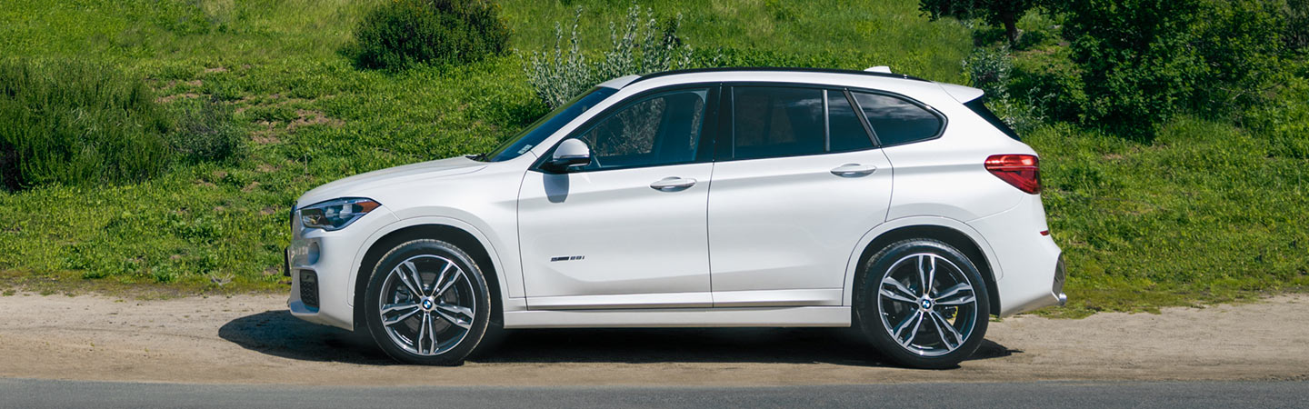 Exterior of the 2019 BMW X1 available near Savannah, GA