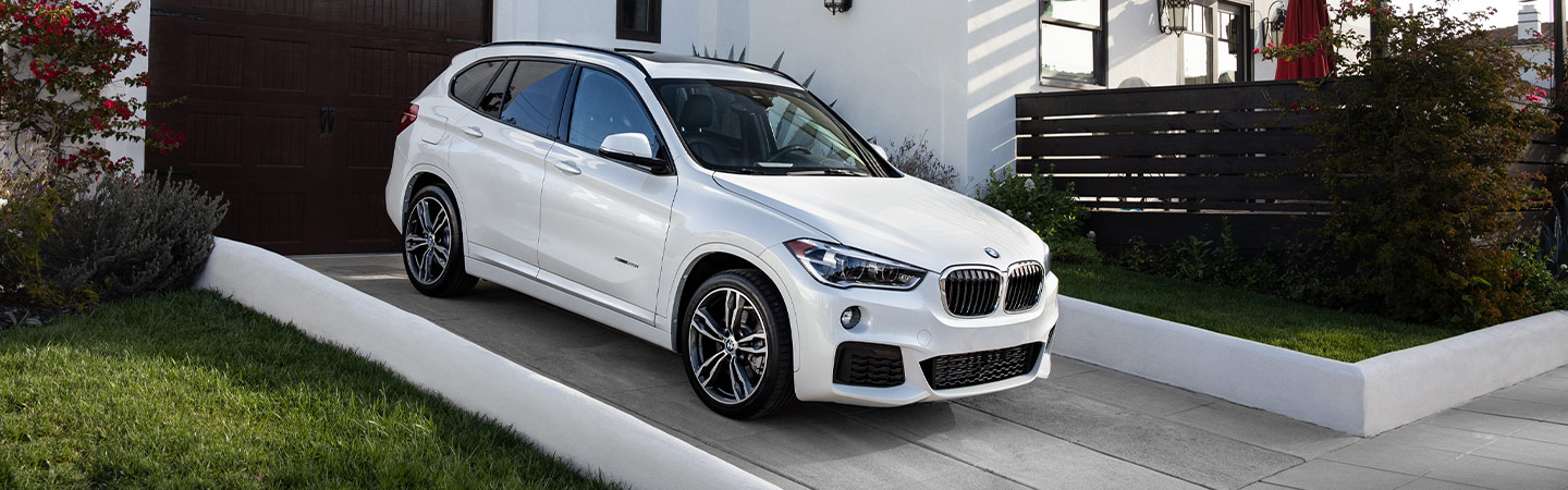 Exterior of the 2019 BMW X1 available at our Hilton Head car dealership