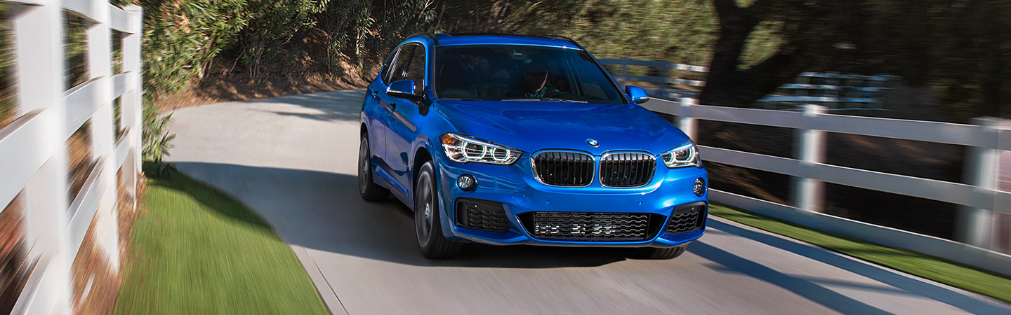 Exterior of the 2019 BMW X1 available at Hilton Head BMW