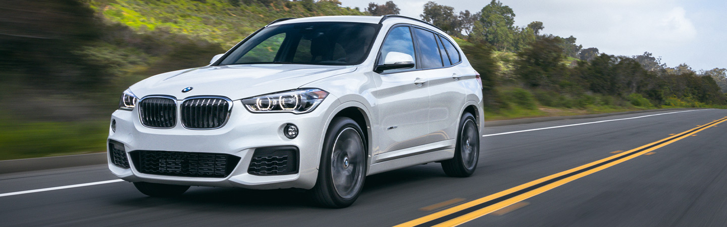 Exterior of the 2019 BMW X1 in Savannah, GA