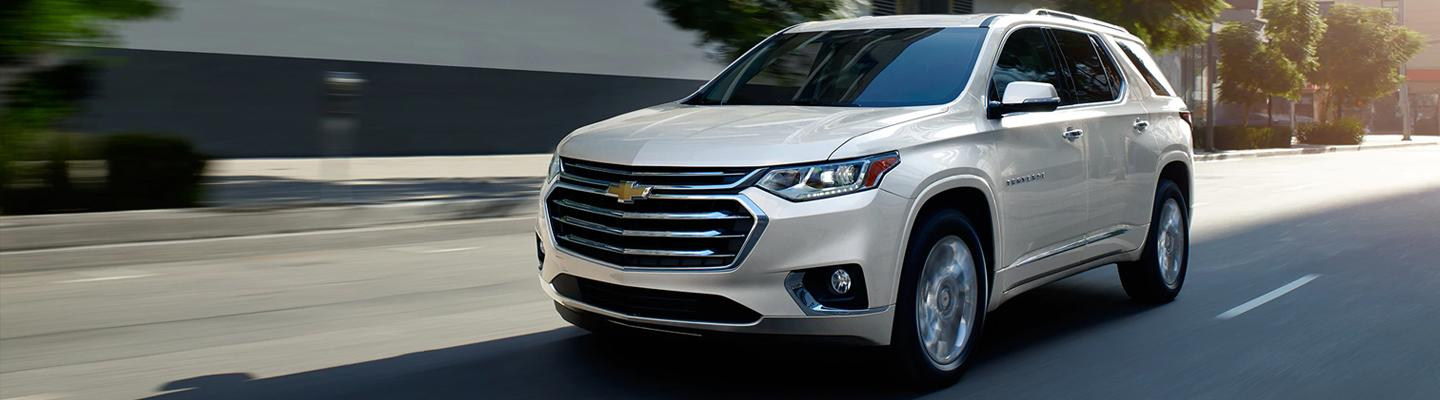 2020 Chevy Traverse at Spitzer Chevy North Canton