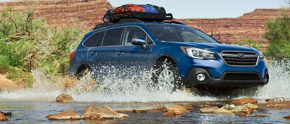 Exterior of the 2019 Subaru Outback - available at our Subaru dealership in Columbus, GA