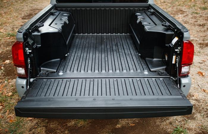 Toyota Tacoma large truckbed