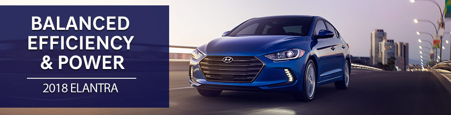 Exterior of the 2018 Hyundai Elantra at Springfield Hyundai near Wilmington, DE