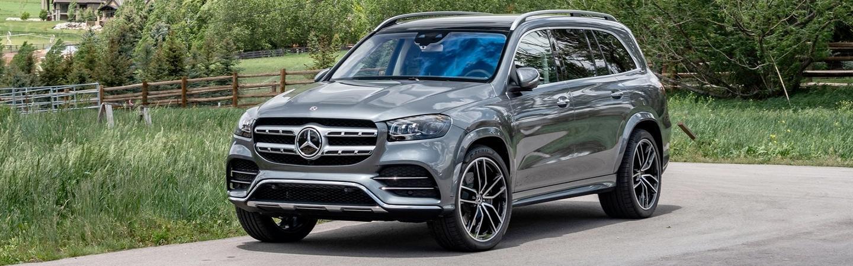 2020 Mercedes-Benz GLS parked in a driveway