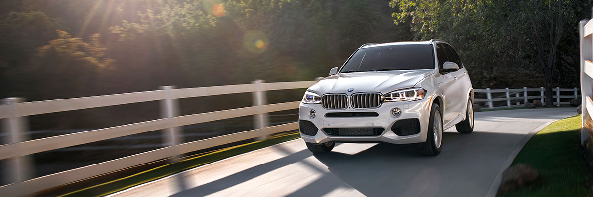 Exterior of the BMW X5 at BMW of Columbia in Columbia, SC