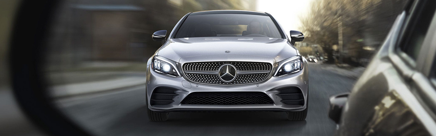 Exterior of the 2019 Mercedes-Benz C-Class at our Augusta car dealership