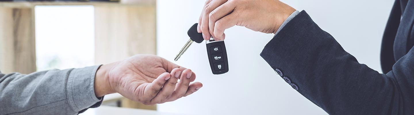 Key exchange after a new Kia Lease deal