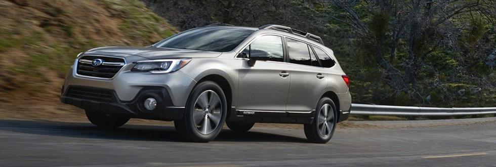 Exterior of the 2019 Subaru Outback - available at our Subaru dealership near Columbus, GA.