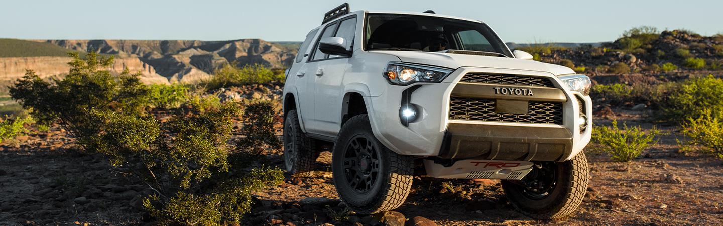 Picture of the new 2020 Toyota 4Runner