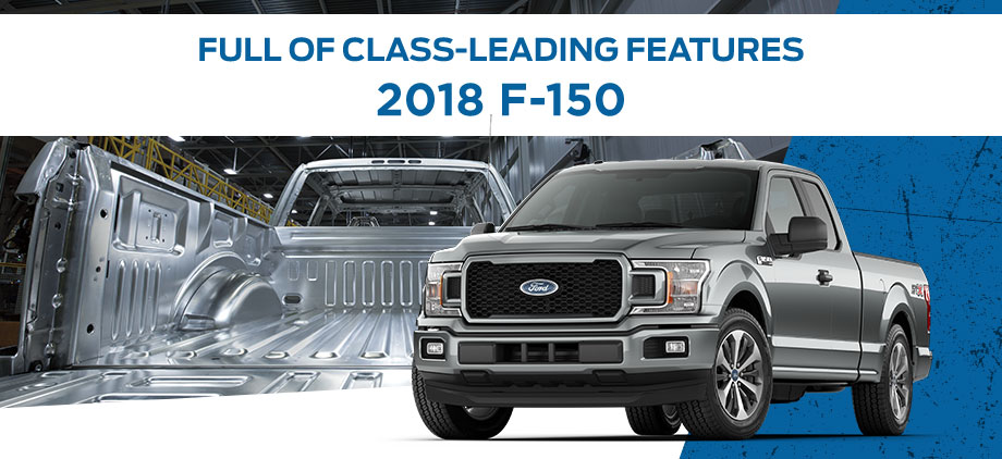 The 2018 Ford F-150 is available at Al Packer's White Marsh Ford near White Marsh, MD