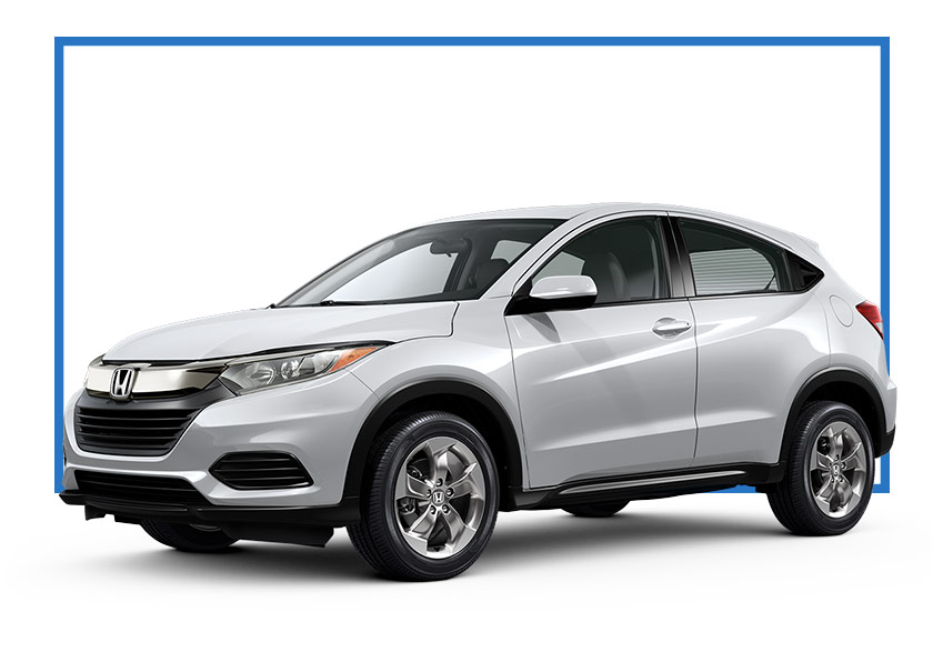New 2019 Honda HR-V LX 2WD