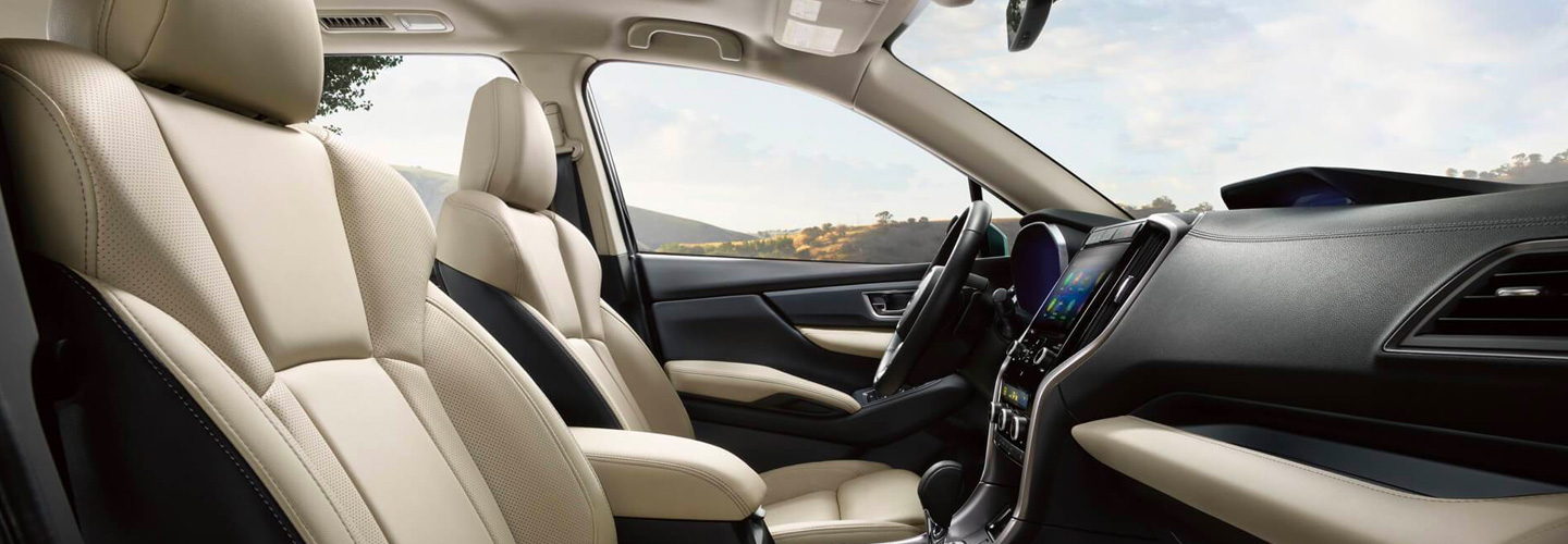 Front seats of the 2020 Ascent