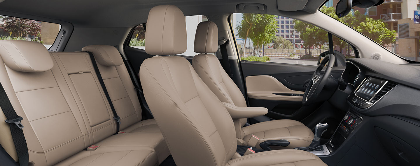 Safety features and interior of the 2019 Buick Encore - available at our Buick dealership in Columbus, GA.