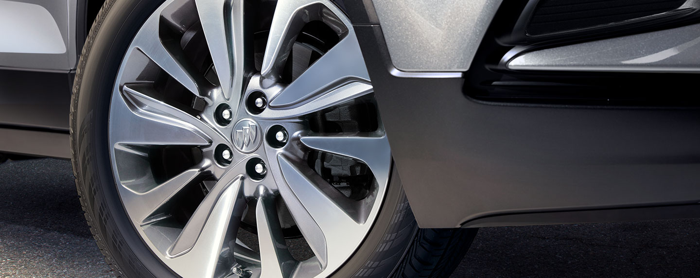 Buick Encore View of the Front Wheel