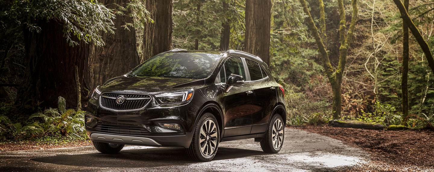 Buick Encore in the Forest