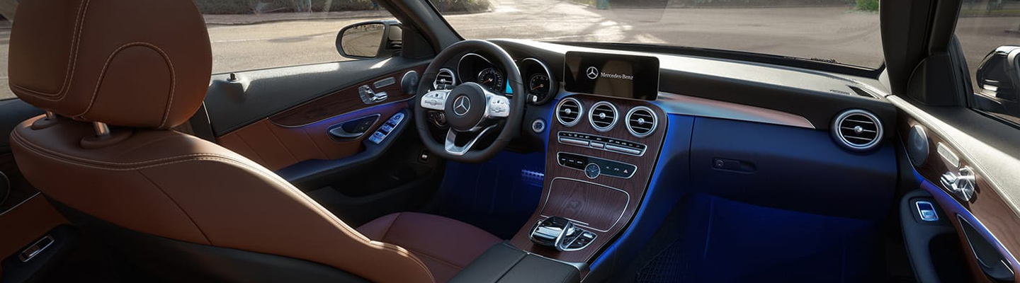 Discover the technology features of the 2019 Mercedes-Benz C-Class at our Augusta car dealership