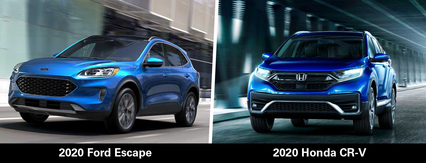 The 2020 Honda CR-V vs the 2020 Ford Escape