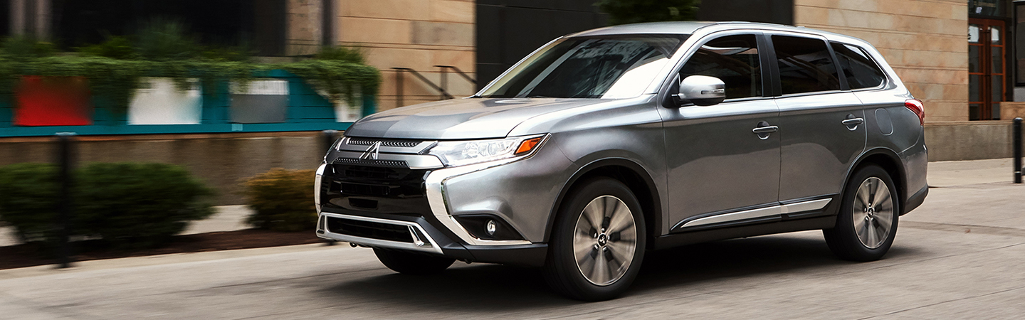 2020 Mitsubishi Outlander in motion