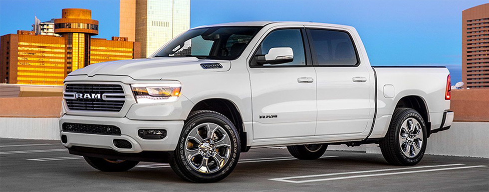 Exterior of Ram 1500 available at our Lake City CDJR dealership in Lake City Fl.