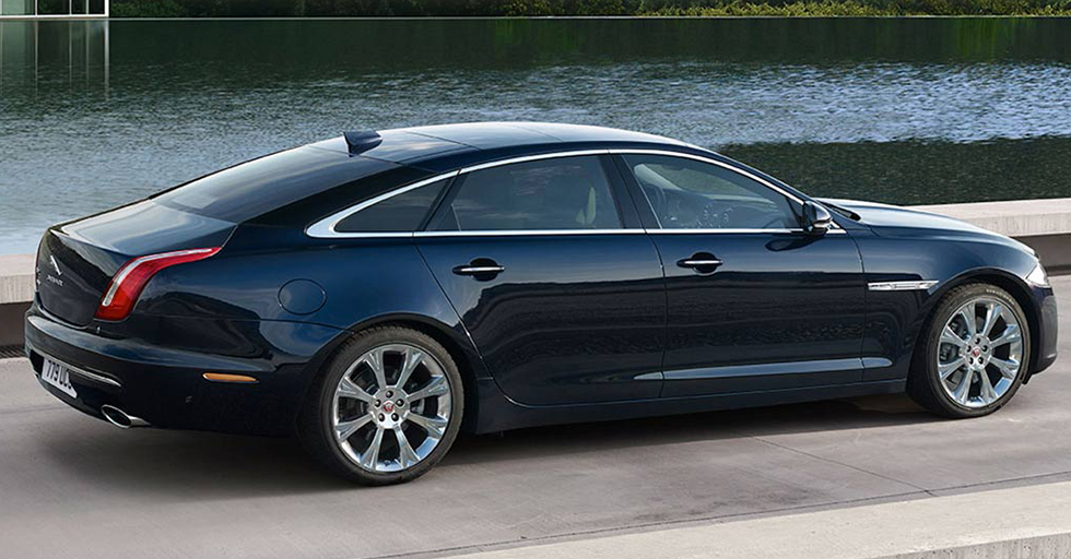 Exterior of the 2019 Jaguar XJ - available at our Jaguar dealership in Honolulu.
