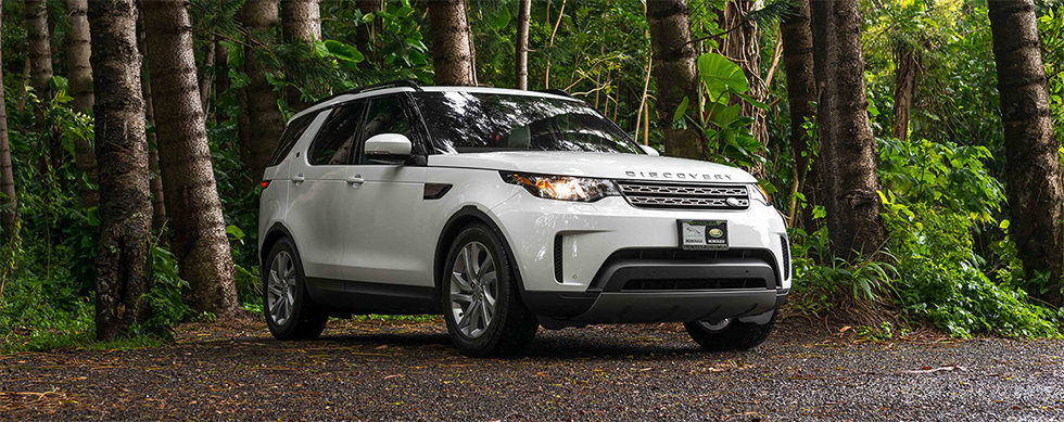 Compare the 2019 Land Rover Discovery and the Jeep Cherokee at our Land Rover Dealership in Honolulu, HI.