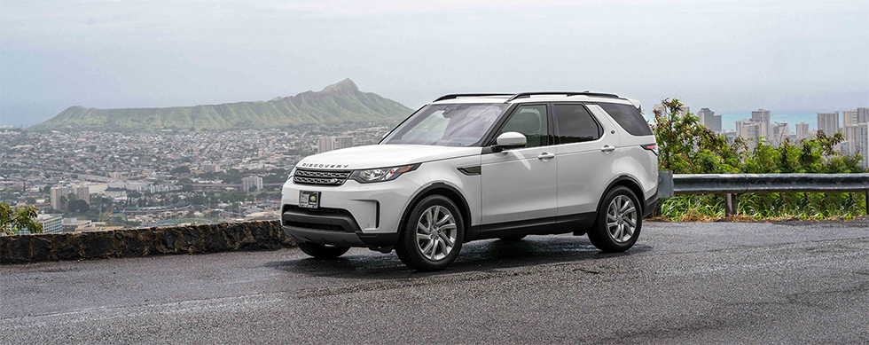 Exterior of the 2019 Land Rover Discovery - available at our Land Rover dealership near Honolulu, HI.