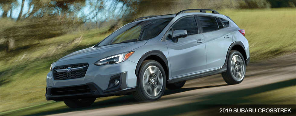 Exterior of the 2019 Subaru Crosstrek - available at our Subaru dealership in Oklahoma City, OK.