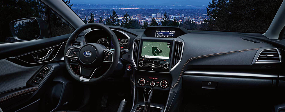 Safety features and interior of the 2019 Subaru Crosstrek - available at our Subaru dealership in Oklahoma City, OK.
