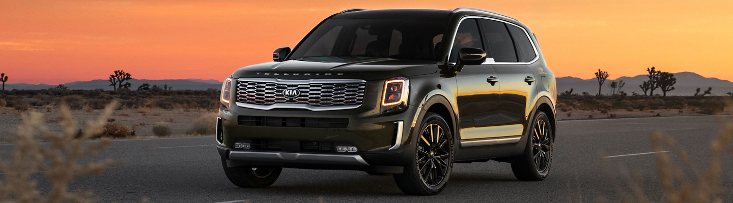 2020 Kia Telluride for lease at Spitzer Kia in Cleveland Ohio.