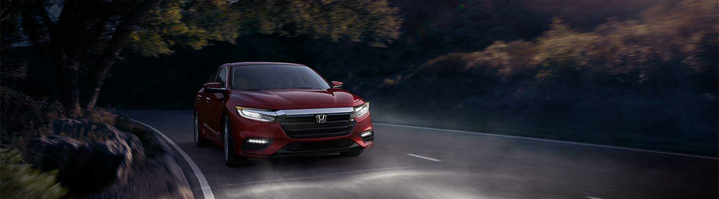 Safety Features on display 2021 Honda Insight