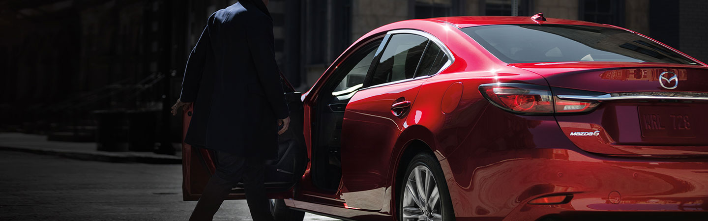 2019 Mazda6 side view exterior